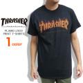 THRASHER Tシャツ フレームロゴ 半袖Tシャツ メンズ スラッシャー ロゴ プリント トップス THRASHER-041