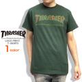 THRASHER Tシャツ ロゴ 半袖Tシャツ メンズ スラッシャー マグロゴ プリント トップス THRASHER-042