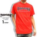 THRASHER Tシャツ ロゴ 半袖Tシャツ メンズ スラッシャー アウトライン マグロゴ プリント THRASHER-044