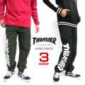 THRASHER パンツ ロゴ ナイロンパンツ スラッシャー ロング パンツ マグロゴ ボトムス THRASHER-048