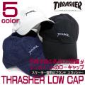 THRASHER キャップ スラッシャー ローキャップ ロゴ刺繍入り メンズ 帽子 THRASHER-1001
