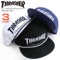 THRASHER キャップ ナイロンキャップ スラッシャー 帽子 刺繍 帽子 スケーターブランド THRASHER-1003