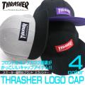 THRASHER キャップ スラッシャ― ポリエステル ボックスロゴ メンズ 帽子 スケーター THRASHER-1004