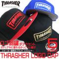 THRASHER キャップ スラッシャ― 刺繍入りキャップ メンズ スケーターブランド THRASHER-1007