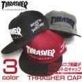 THRASHER キャップ スラッシャー ロゴ刺繍 帽子 THRASHER MAGAZINE THRASHER-1020