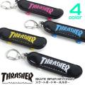 THRASHER キーホルダー スラッシャー スケボーキーホルダー スケーター 小物 ストラップ THRASHER-1035
