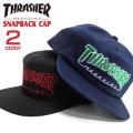 THRASHER キャップ スラッシャー 帽子 メンズ 帽子 スナップバック レディース 帽子 THRASHER-1046