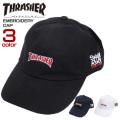 THRASHER キャップ ロゴ刺繍 帽子 メンズ スラッシャー ローキャップ レディース 小物 THRASHER-1051