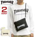 THRASHER バッグ ロゴプリント サコッシュ スラッシャー ショルダーバッグ ブランドタグ THRASHER-THC101