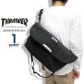 THRASHER メッセンジャーバッグ ショルダーバッグ メンズ スラッシャー バッグ THRASHER-THREX400