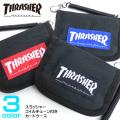 THRASHER カードケース コイルチェーン付き パスケース スラッシャー 定期入れ 財布 THRASHER-THRSG119