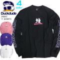 DUCK DUDE Tシャツ 袖ロゴ 長袖Tシャツ メンズ ロンT ダックデュード アヒル ビーワンソウル TSL-105