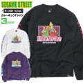 SESAME STREET Tシャツ セサミストリート キャラクターTシャツ メンズ ロンT TSL-110