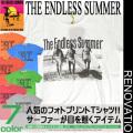 THE ENDLESS SUMMER Tシャツ エンドレスサマー メンズ 半袖Tシャツ  フォトプリントTシャツ。TSS-032