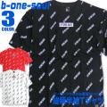 b-one-soul Tシャツ 総柄 半袖Tシャツ ワイドシルエット メンズ B ONE SOUL トップス TSS-280