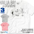 KAILUA BAY Tシャツ POPEYE コラボ パイル地Tシャツ メンズ カイルアベイ イラストプリント TSS-288