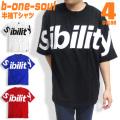 b-one-soul Tシャツ ロゴプリント 半袖Tシャツ メンズ ストリート B ONE SOUL トップス TSS-330