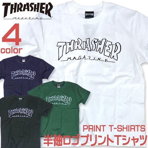 THRASHER Tシャツ スラシャー 半袖Tシャツ ブランドロゴ プリントT スラシャーマガジン THRASHER-018