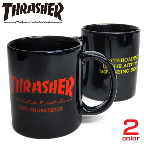 THRASHER マグカップ スラッシャ― 雑貨 MUGCAP スラッシャーマガジン THRASHER-1015