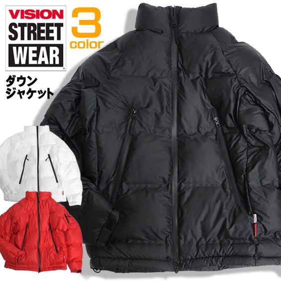 VISION ジャケット シームレス加工 中綿ジャケット ヴィジョン ヴィジョンストリートウェア アウター VISION-082