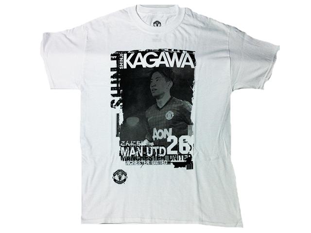 マンチェスター・ユナイテッド KAGAWAプリントT-シャツ【50%OFF】【新品】