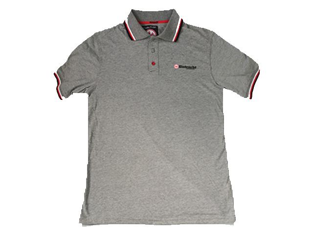フランクフルト:ポロシャツ(グレー)【30%OFF】【新品】