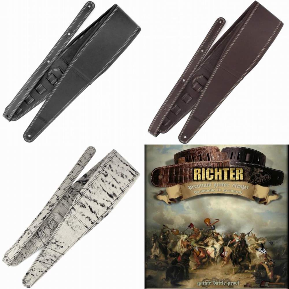 Richter Straps ギターストラップ Springbreak 11cm幅