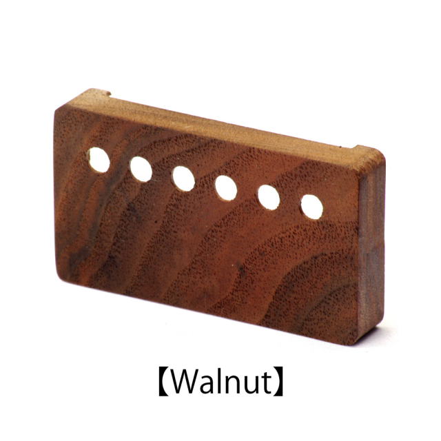 Lx pickups(エルエックス) ウッドピックアップカバー/ウォルナット/53mmピッチ Wood Pickup Cover木製