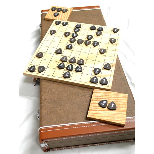 【限定各1台】Reodell(リオデル)Japanese chess SET / ギターモチーフの将棋盤・駒セット