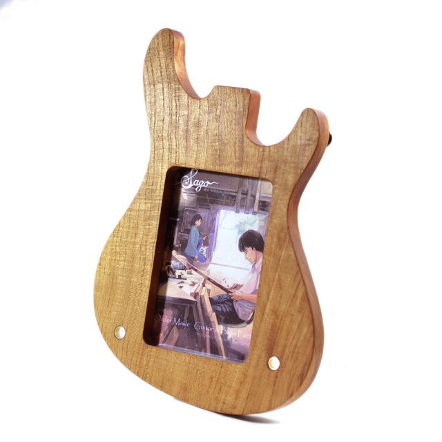 Reodell(リオデル) ギター型フォトフレーム/選べる3種類 縦置き・横置きどちらでも可!