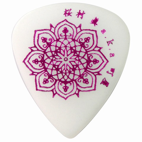 Sago(サゴ) ギターピック 和楽器バンド 町屋(桜村眞) Pink0.8mm