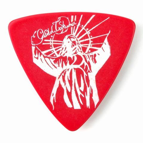 Sago(サゴ) ギターピック ギルドTAKUMA Red 1.0mm