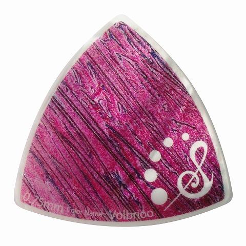 Sago(サゴ) ギターピック Wrapick Triangle Volbrioo0.75mm
