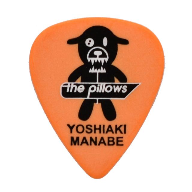 Sago(サゴ) ギターピック the pillows真鍋吉明 Orange1.0mm