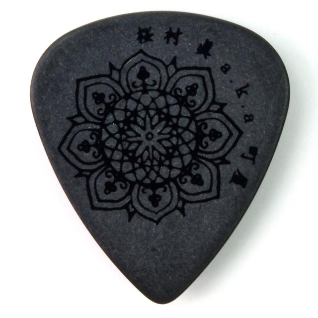 Sago(サゴ) ギターピック 和楽器バンド 町屋(桜村眞) Black0.8mm