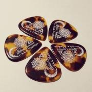 Sago(サゴ) ギターピック 和楽器バンド 町屋(桜村眞) ベッコウ 1.5mm 10枚セット