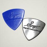 Sago(サゴ) ギターピック Medium 10枚セットエンボス滑り止め加工