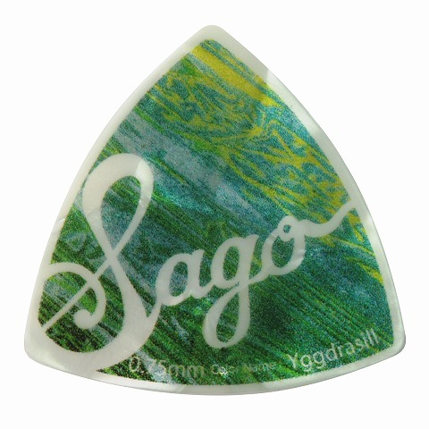 Sago(サゴ) ギターピック Wrapick Triangle Yggdrasill0.75mm