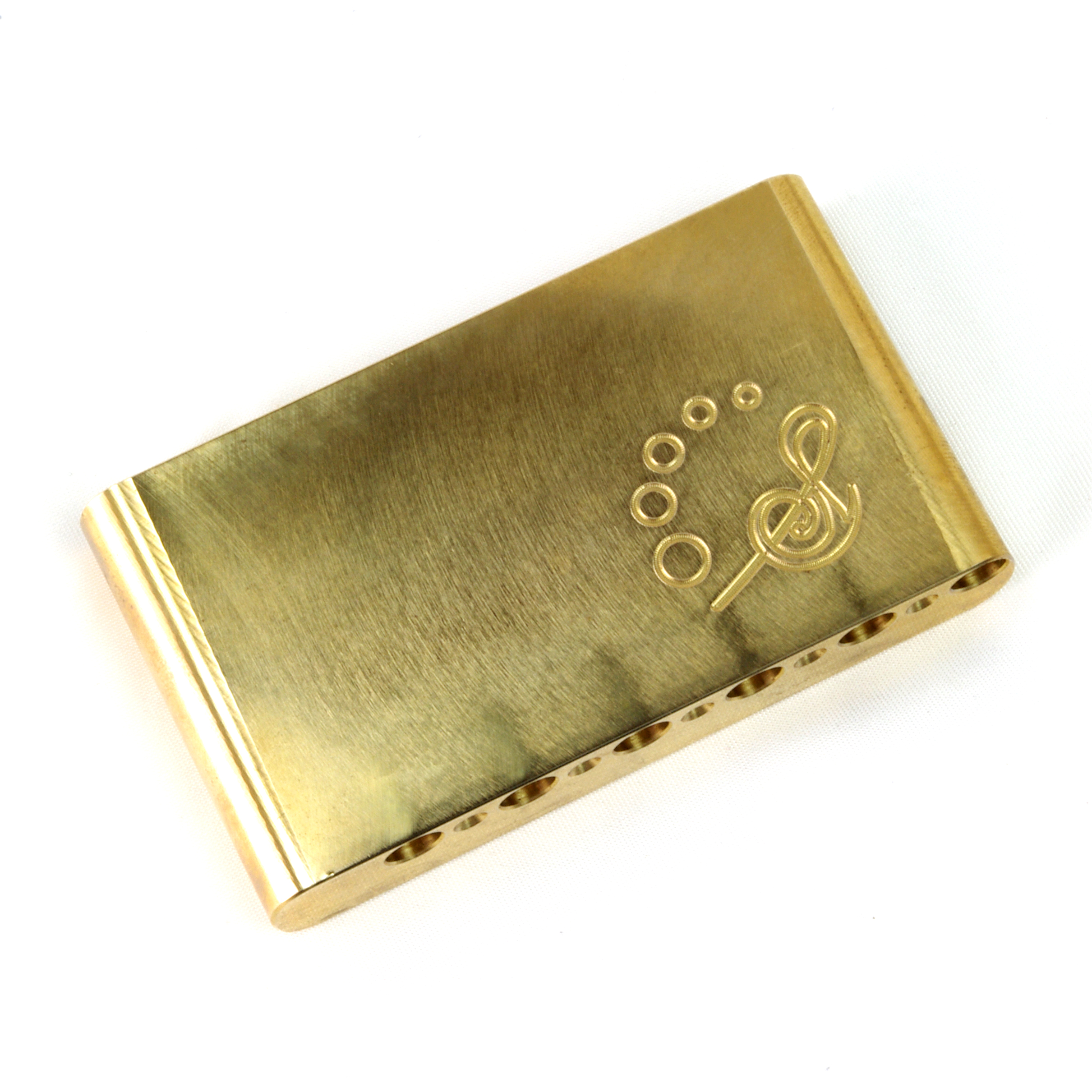 Sago(サゴ) トレモロブロック Inertia Block Brass (Gotoh GE101T互換品)サスティーン向上