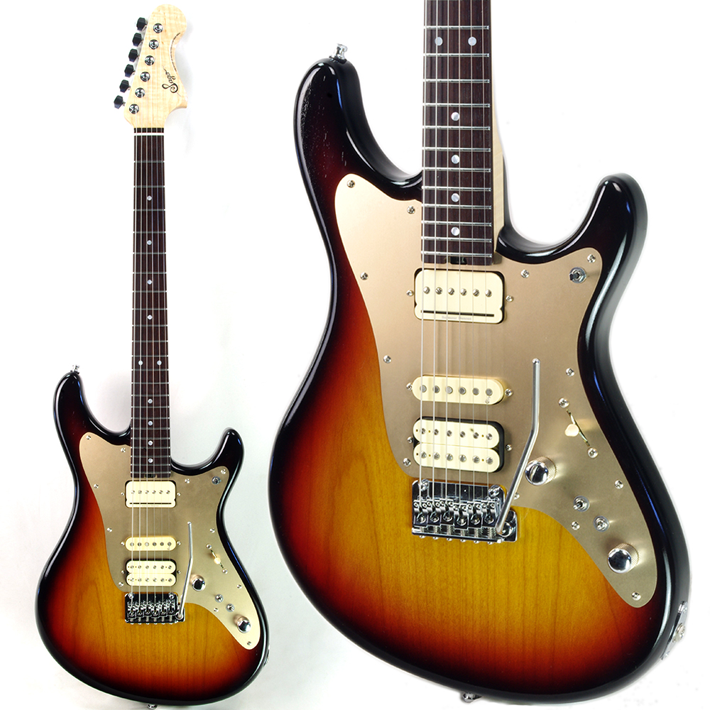 [受注生産]Sago(サゴ)エレキギター/Sonia -Okazawa Custom-/オカザワ カズマ シグネイチャーモデル/本人同仕様/キュウソネコカミ