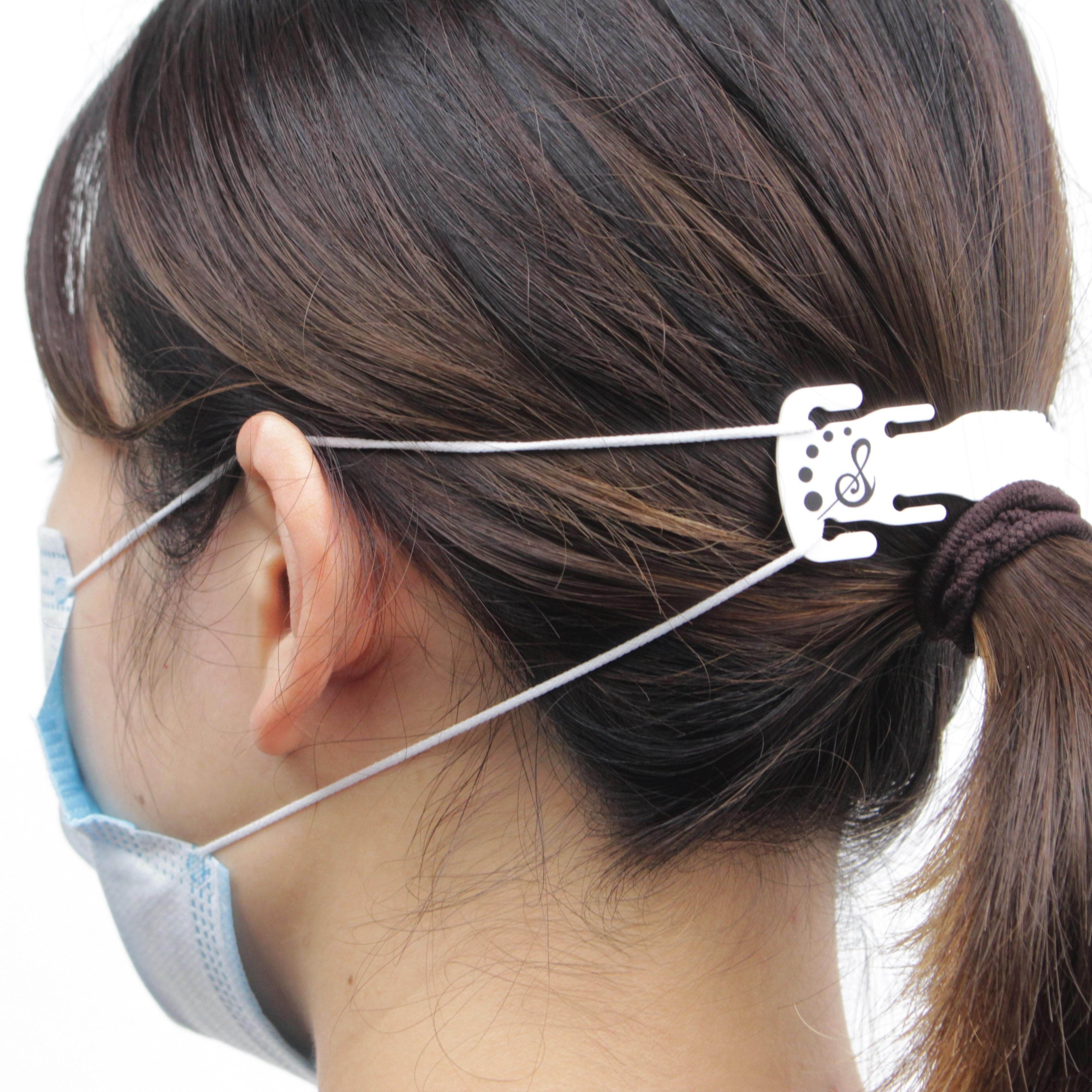 【マスクフック】 耳を痛みから守る!
