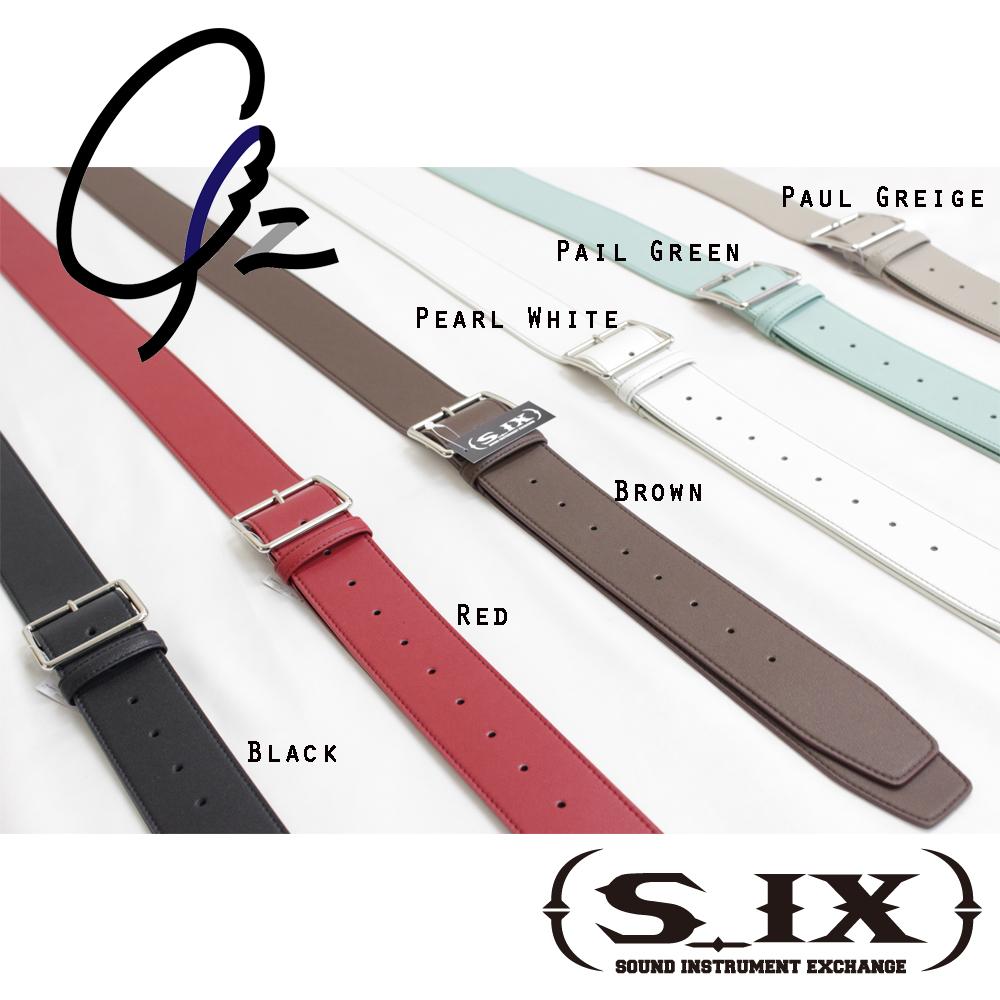 【新商品】S_IX(シックス) ギターストラップ Gz(ジーズ)