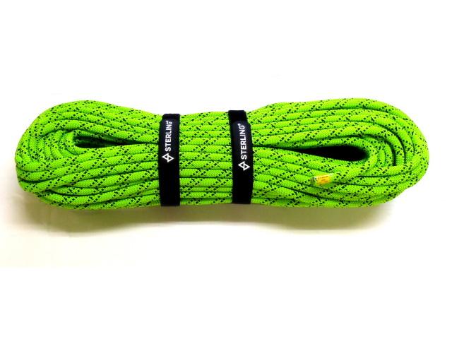 スターリン HTPスタティックロープ 10mm 50m ネオングリーン