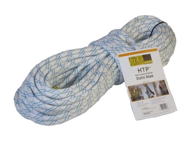 スターリン HTPスタティックロープ 12.5mm 50m ホワイト