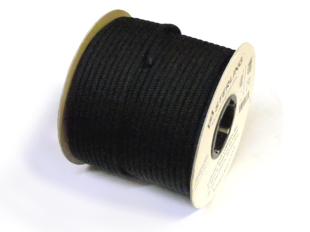 【在庫限り】スターリン プルージックコード 7mm (100m) ブラック
