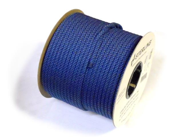 【在庫限り】スターリン プルージックコード 7mm (100m)ブルー
