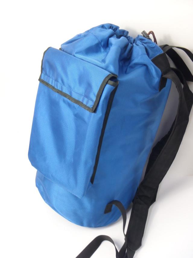 レスキュージャパン ロープバック 小サイズ50m用 ブルー
