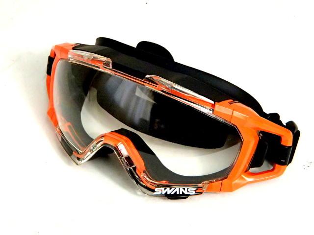 スワンズ SS-7000CL プロユースセーフティゴーグル オレンジ
