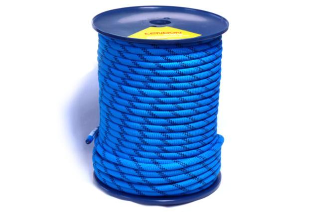 セミスタティックロープ 11mm100m テンドン ブルーEN1891 【 ロープアクセス・IRATA基準・高所作業用】