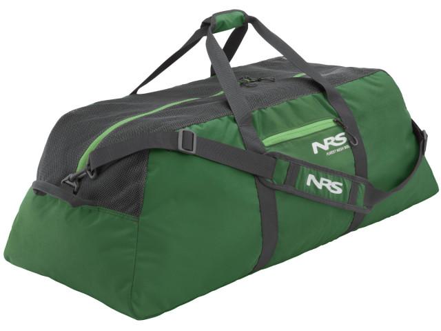 NRS ピュアメッシュダッフルバッグ グリーン 90L